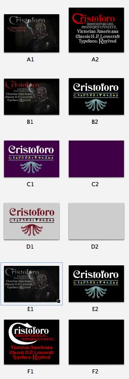 Cristoforo t-shirt thumbnails